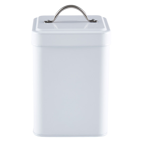 Tea Canister White