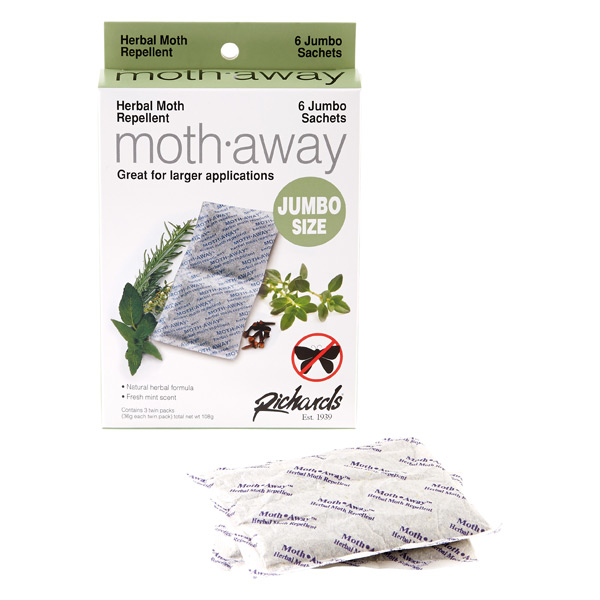 Jumbo Moth-Away™ Repellent Sachets Pkg/6