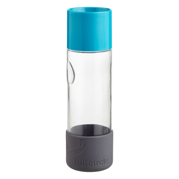 19 oz. Day Tripper Glass Bottle Blue
