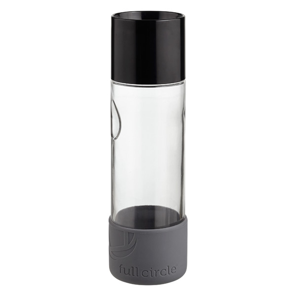 19 oz. Day Tripper Glass Bottle Black
