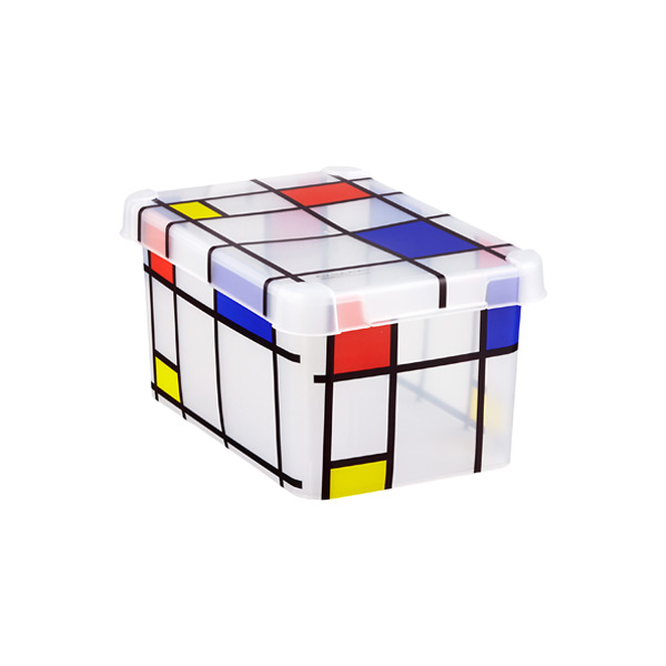 Small Mondrian Storage Box