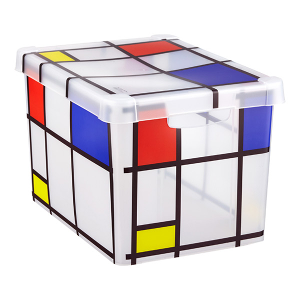 Large Mondrian Storage Box
