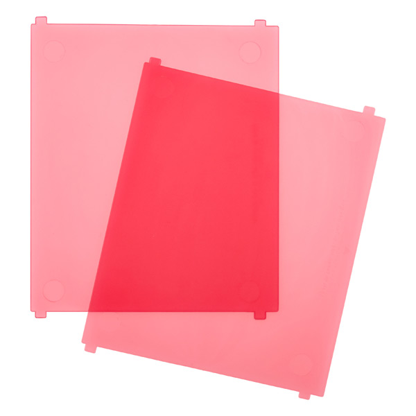 Like-it® Bricks Medium Tall Divider Pink Pkg/2