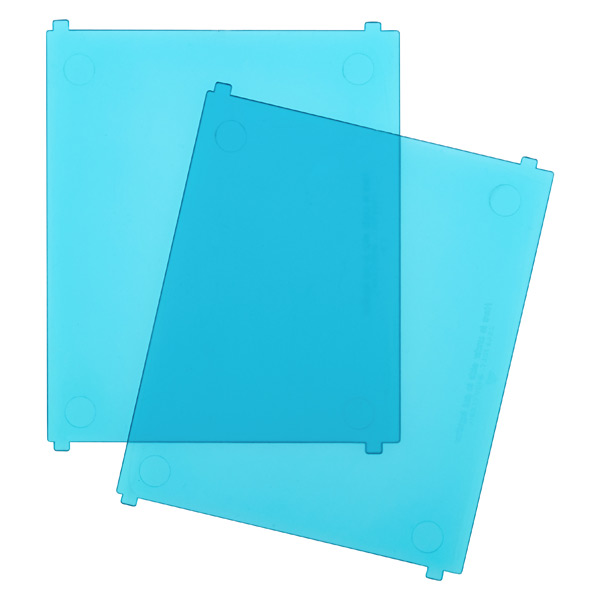 Like-it® Bricks Medium Tall Divider Blue Pkg/2
