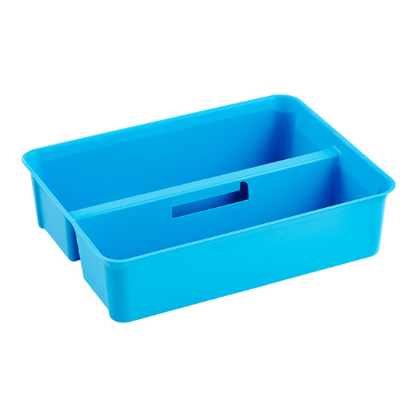 Colorwave Smart Store Handled Tray Blue