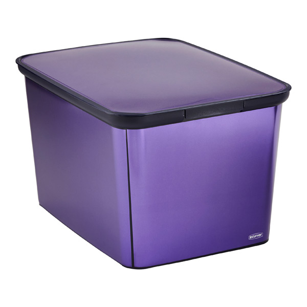 Metallic Decobox Purple