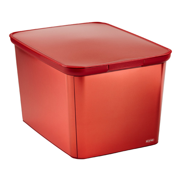 Metallic Decobox Red