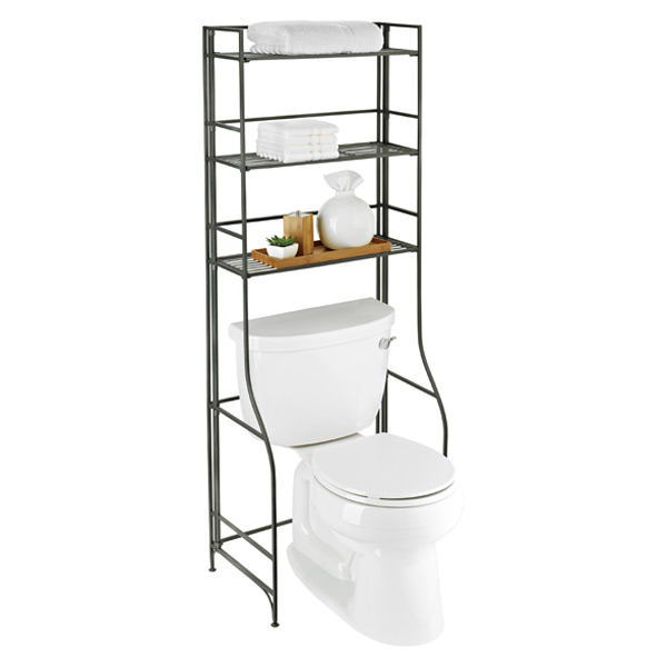 Iron Folding Bath Etagere The Container Store