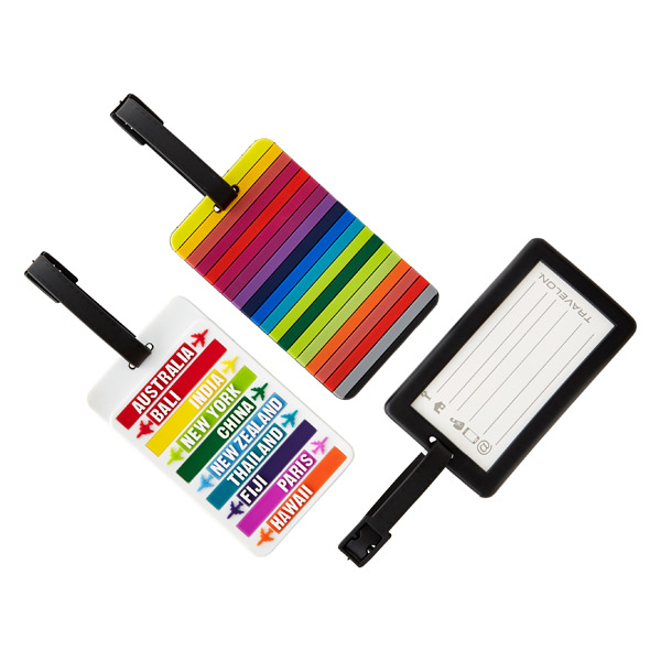 Travelon Destination Stripes Luggage Tags | The Container Store