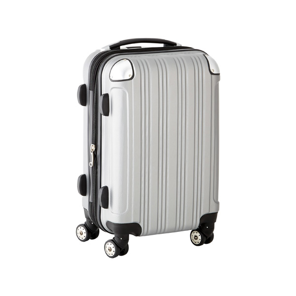 "21"" Sojourn 8-Wheeled Luggage Silver"
