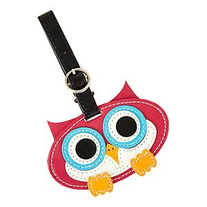 Critter Luggage Tag Owl