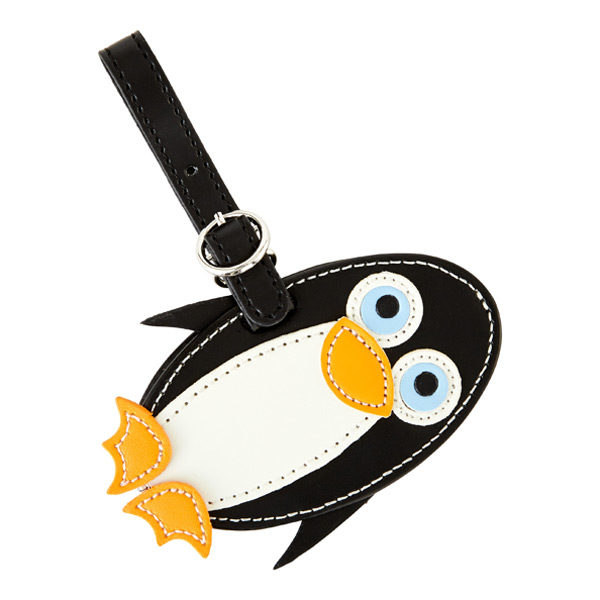 Critter Luggage Tag Penguin
