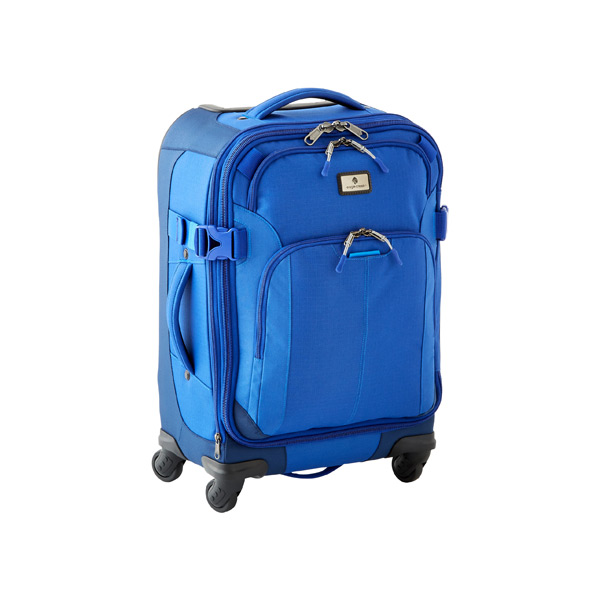 "Eagle Creek™ 22"" Adventure 4-Wheeled Luggage Blue"