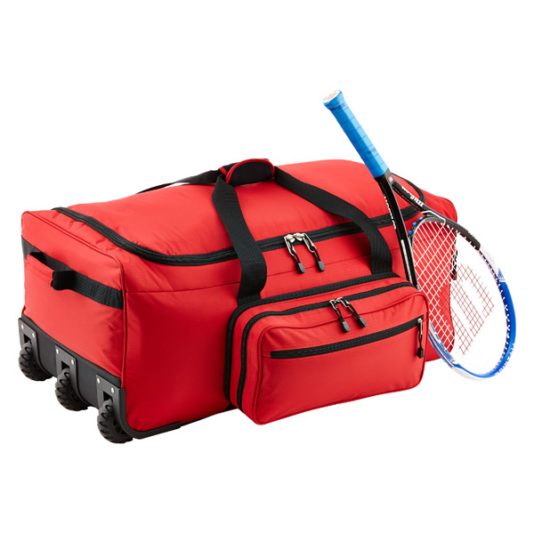 "31"" Rolling Gear Bag Red"