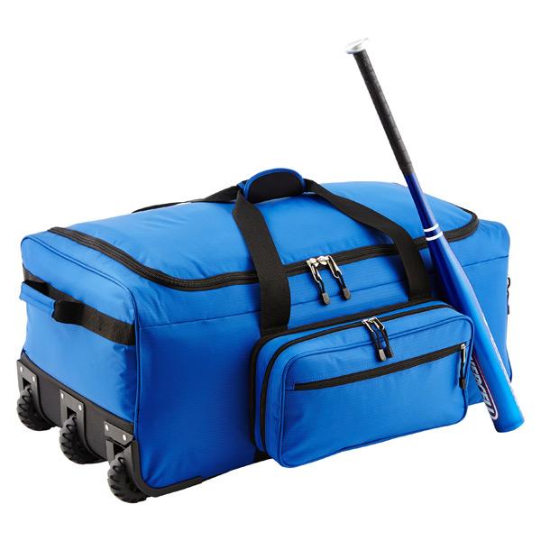"31"" Rolling Gear Bag Blue"