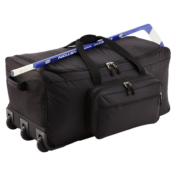 "Black 36"" Rolling Gear Bag"