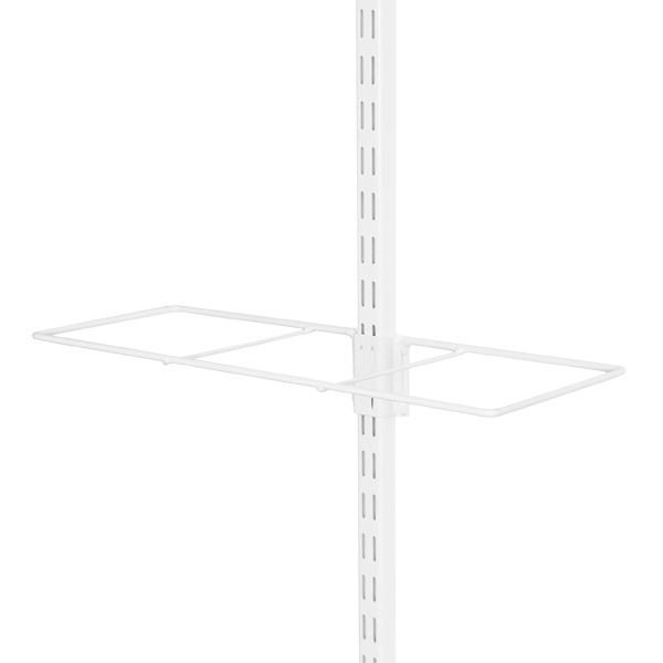 White elfa Gift Wrap Rack