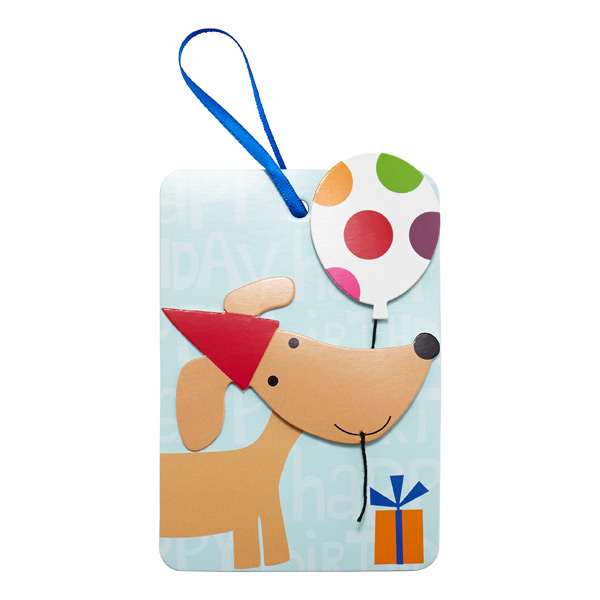 Gift Tags Party Pup