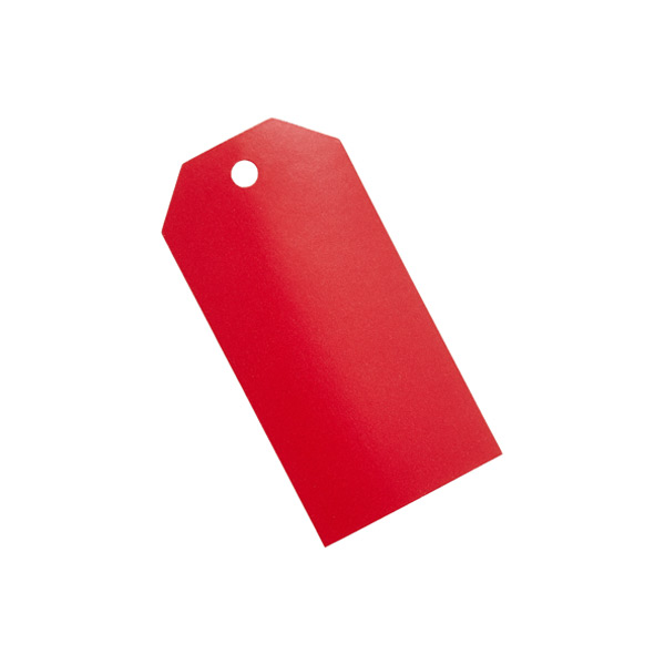 Gift Tags Red Pkg/10