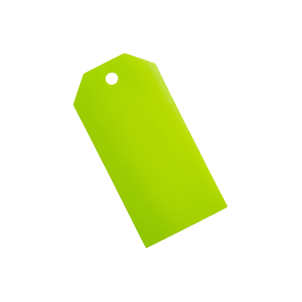Gift Tags Lime Pkg/10