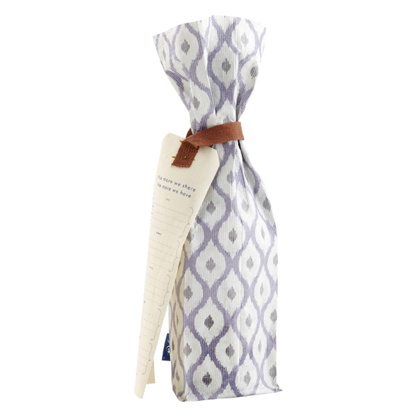 Reusable Wine Bag Ikat