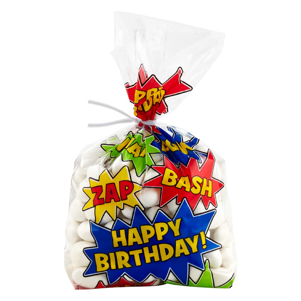 Cello Bags Birthday Comics Pkg/8