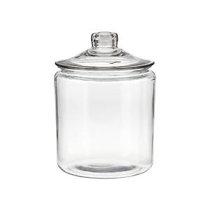 1 gal. Glass Canister Glass Lid