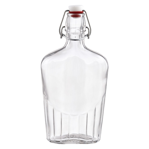17 oz. Glass Hermetic Flask 500 ml.