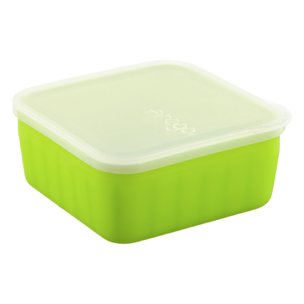 16 oz. frego® Glass & Silicone Square Green