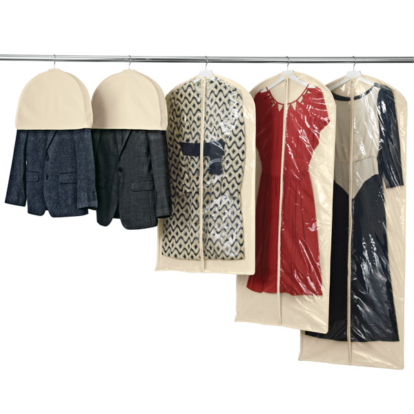 Natural Cotton Single Garment Bags