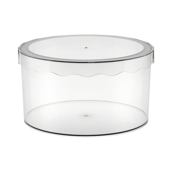 Small Clarity Hat Box Translucent