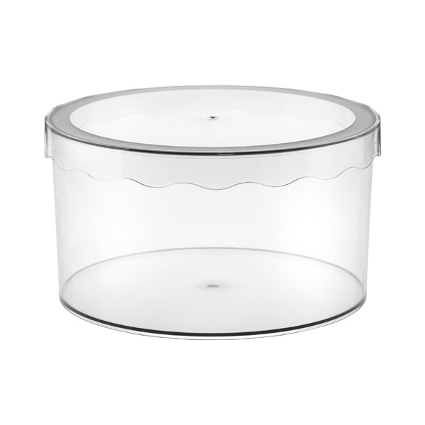 Medium Clarity Hat Box Translucent