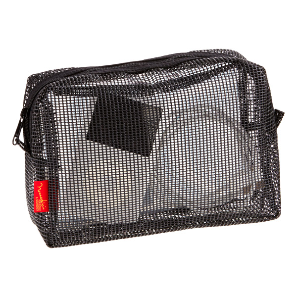 Large Mesh Travel Cube Black