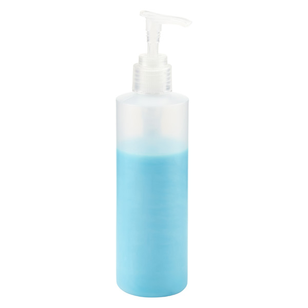 Translucent Pump Travel Bottle