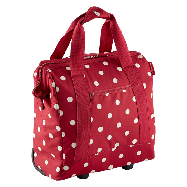 reisenthel® Allrounder Wheeled Tote Ruby Dots