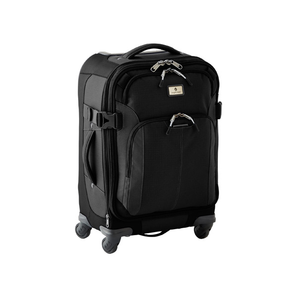 "Eagle Creek™ 22"" Adventure 4-Wheeled Luggage Black"