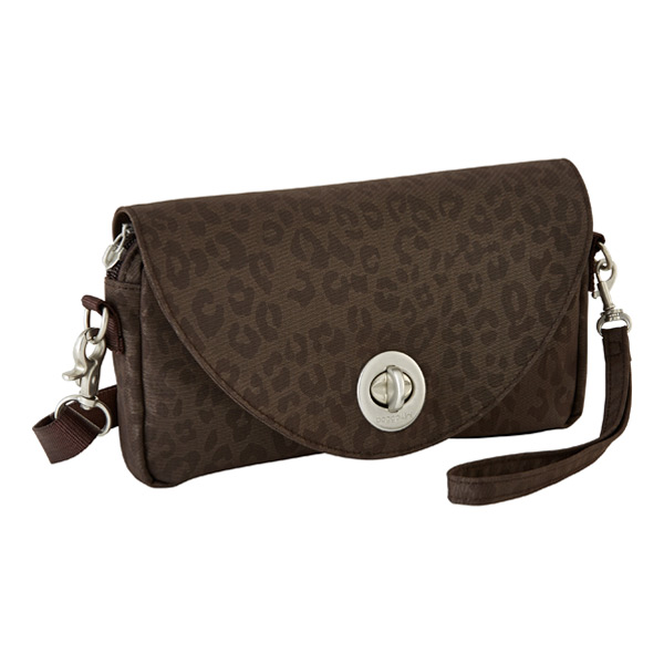 Inspire Convertible Crossbody Espresso Cheetah