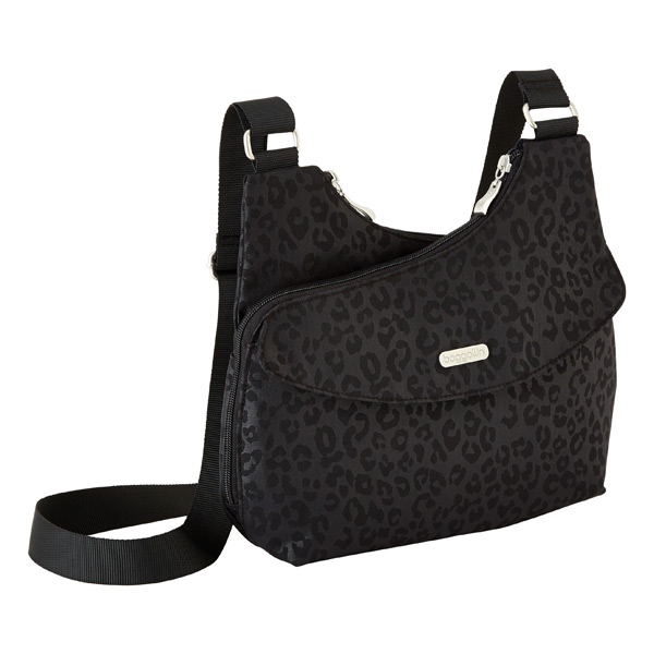 The Tred Crossbody Black Cheetah
