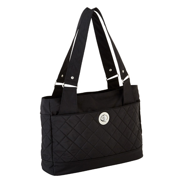 Ontario Tote Quilted Black