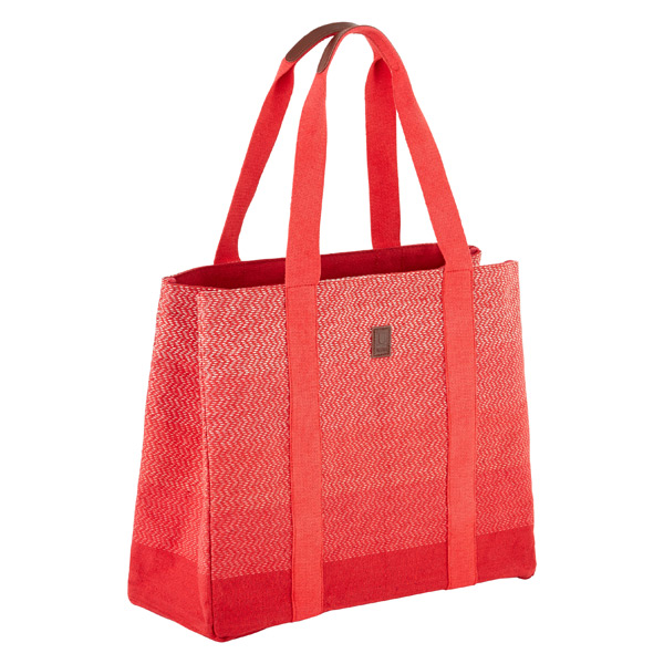 Umbra® Chevron Tote Red