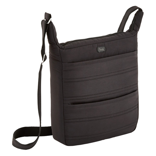 Compass Crossbody Bag Black