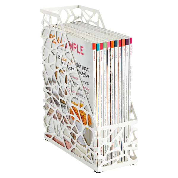 Nest Magazine File White