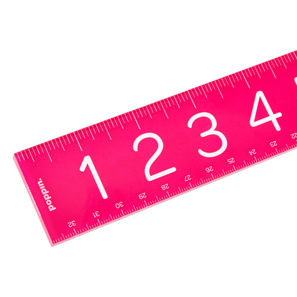 Poppin® Acrylic Ruler Pink