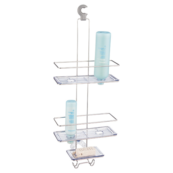 Good Grips® 3-Tier Shower Caddy Stainless Steel