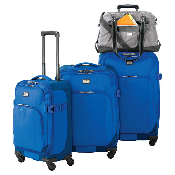 "Eagle Creek™ Blue 22"" Adventure 4-Wheeled Luggage"