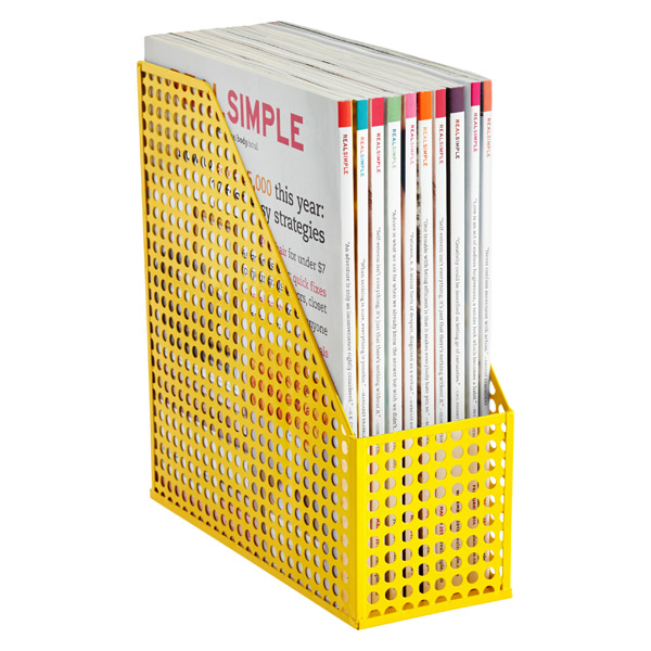 Edison Magazine File Yellow