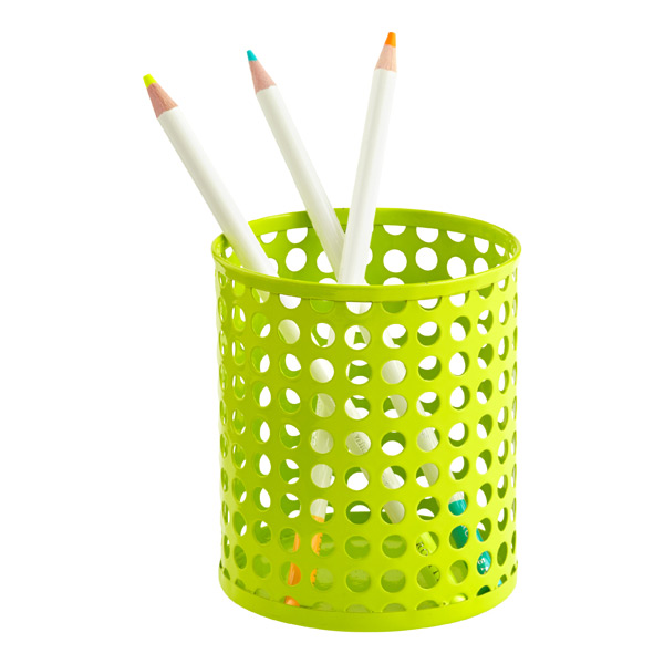 Edison Pencil Cup Green
