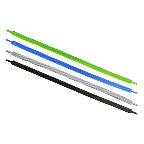 "10"" Unlace Silicone Cable Ties Forest Pkg/4"