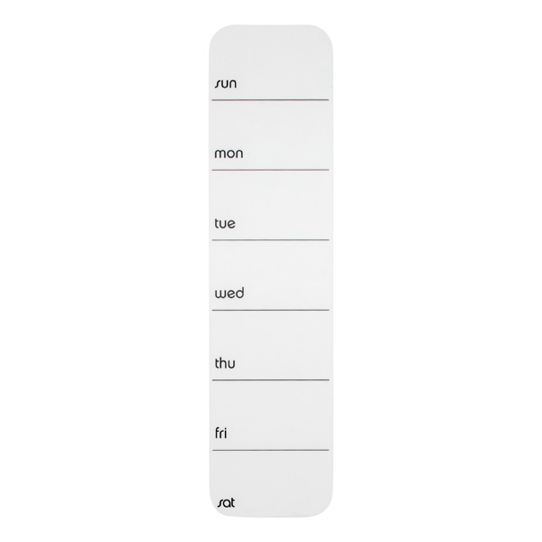 Stick-It!™ Weekly Planner White