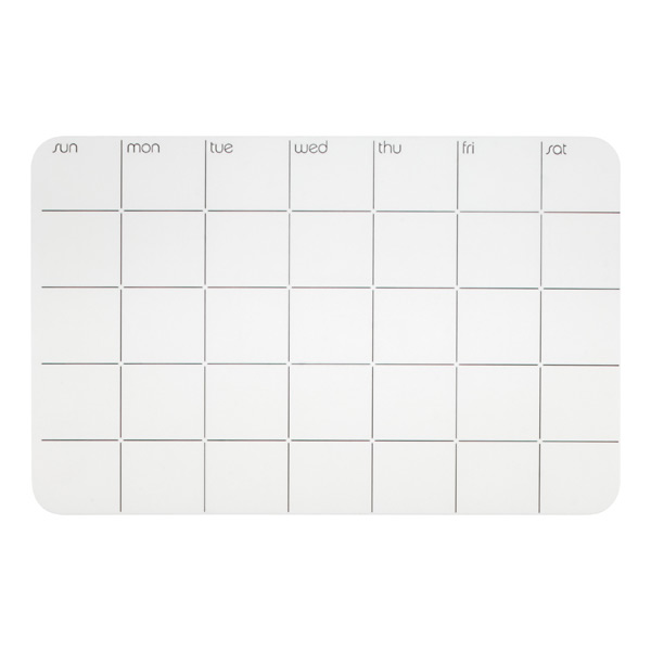 Stick-It!™ Monthly Planner White